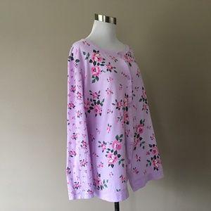 Carole Hochman Sleepwear Plus Size 2X Pajama Top